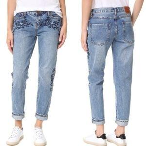 🆕One x One Teaspoon Blue Muse Lola Jeans